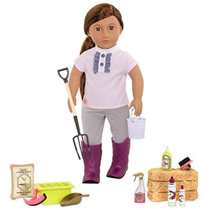 Our Generation by Battat- Hay and Neigh Horse Care Set- Toys, Doll Clothes & Accessories for 18-inch Dolls- Ages 3 Years and Up