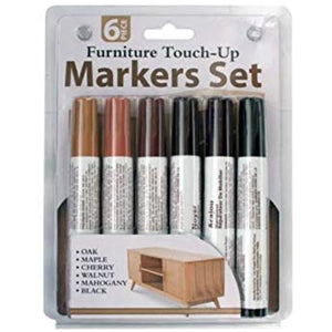 6-Pc Furniture Touch-Up Marker Set
