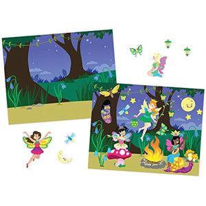 Melissa & Doug Reusable Sticker Pad Bundle - Fairy, Princess, Dress-Up and Play House