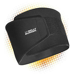 Belly Burner Weight Loss Belt, Black, One-Size Fits All