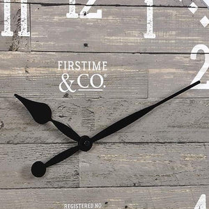 "FirsTime & Co. 20"" Arlo Gray Wall Clock, Light"