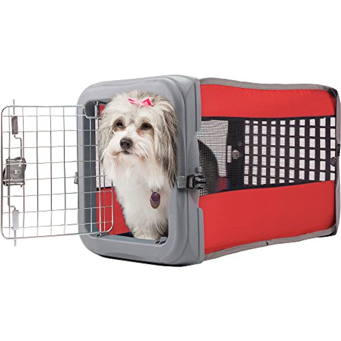 Small Pop Crate Red - Dog House Dogs Cats Houses Kennel Crate Play Pen Igloo Outdoor Indoor - Sale!