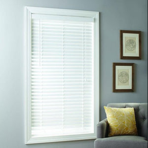"Better Homes & Gardens 2"" Faux Wood Cordless Blinds, White"