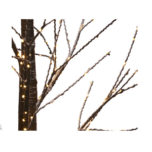 "Indoor/ Outdoor Illuminated 60"" Birch Tree with Base by Valerie"