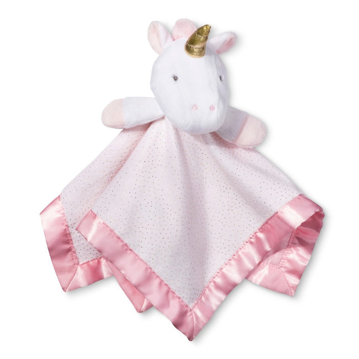 Small Security Blanket Unicorn - Cloud Island - Light Pink