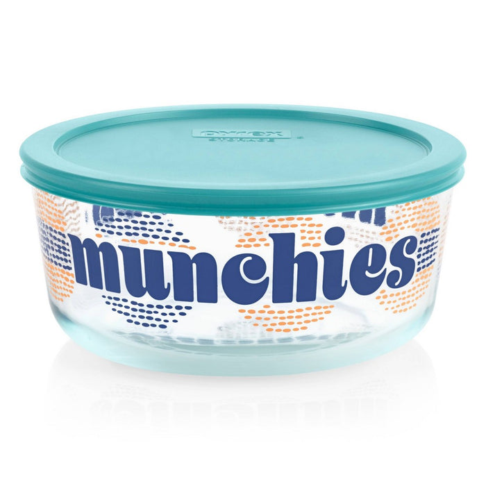 Pyrex 7 Cup Round Food Storage Container - Munchies