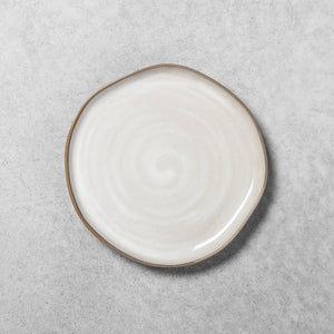 Reactive Glaze Stoneware Salad Plate Gray - Hearth & Hand with Magnolia