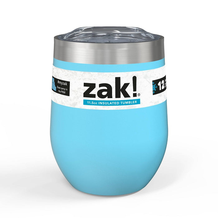 Zak 11.5oz DW Stainless Steel Chelan Tumbler - Purist Blue
