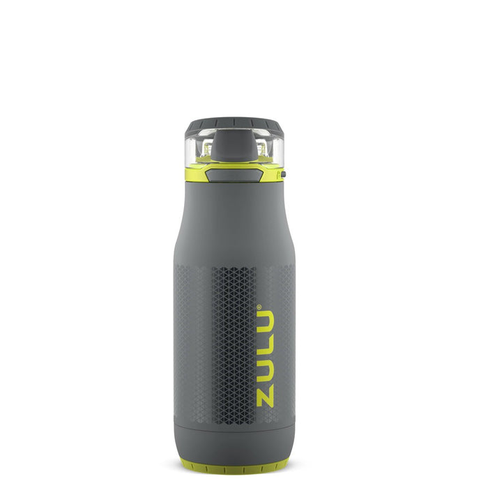 Zulu Chase 14oz Stainless Steel Water Bottle - Gray