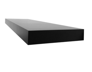 Floating shelf 36-inch 1pc black