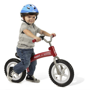 Radio Flyer, All-Terrain Balance Bike, Air Tires, Red