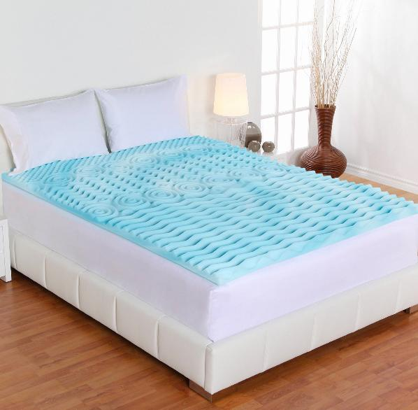Authentic Comfort 4-Inch Orthopedic 5-Zone Foam Mattress Topper