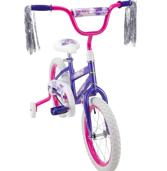 "Huffy 16"" Sea Star Kids Bike for Girls, Pink"