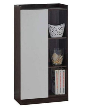 Maison Concept Wooden Cabinet, White & Brown