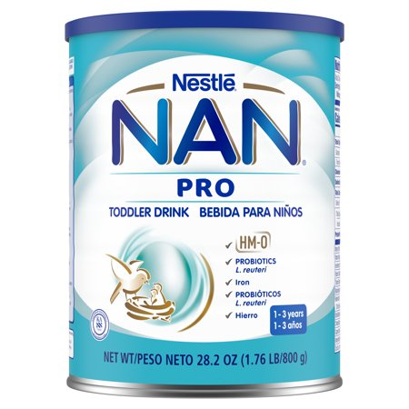 NAN Pro Toddler Drink HMO 28.2oz Canister