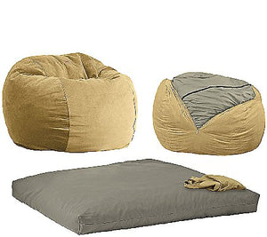 CordaRoy's Full Size Convertible Bean Bag Chair