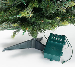 "Bethlehem Lights 30"" Green Overlit Stake Tree"