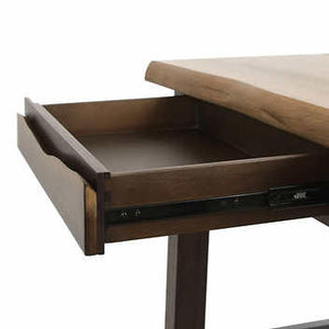LIVE EDGE WRITING DESK