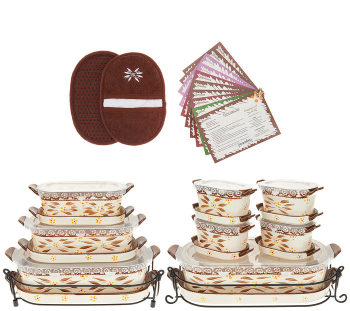 Temp-tations Old World 21-Piece Bakeware Set