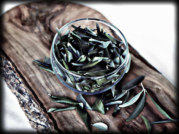 Olive Leaves dried from our groves, organic, handpicked olive leaf, natural leaf tea, a breeze from the groves, olive magic