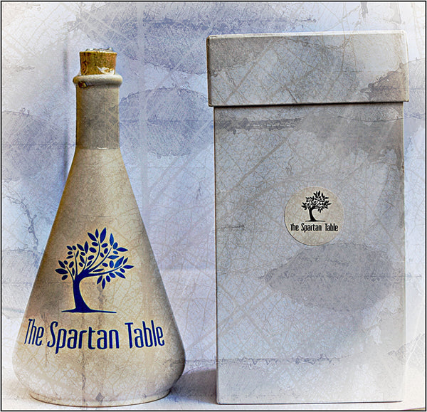 COMING SOON 1/2l of the Finest Extra Virgin Olive Oil in a beautiful & reusable Ceramic bottle (Limited production)