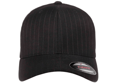 Flexfit 6195P Pinstripe Black