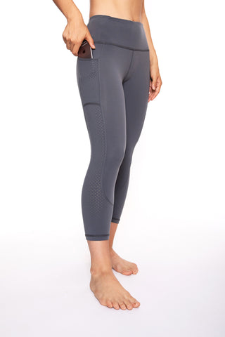 Women's Perf Tights (Grey)