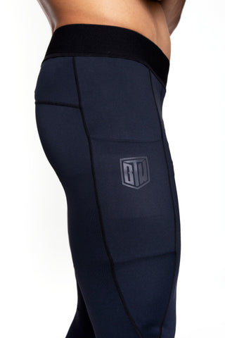 Men's Comp Tights (Obsidian)
