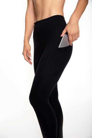 Women's Rise Tights (Black)