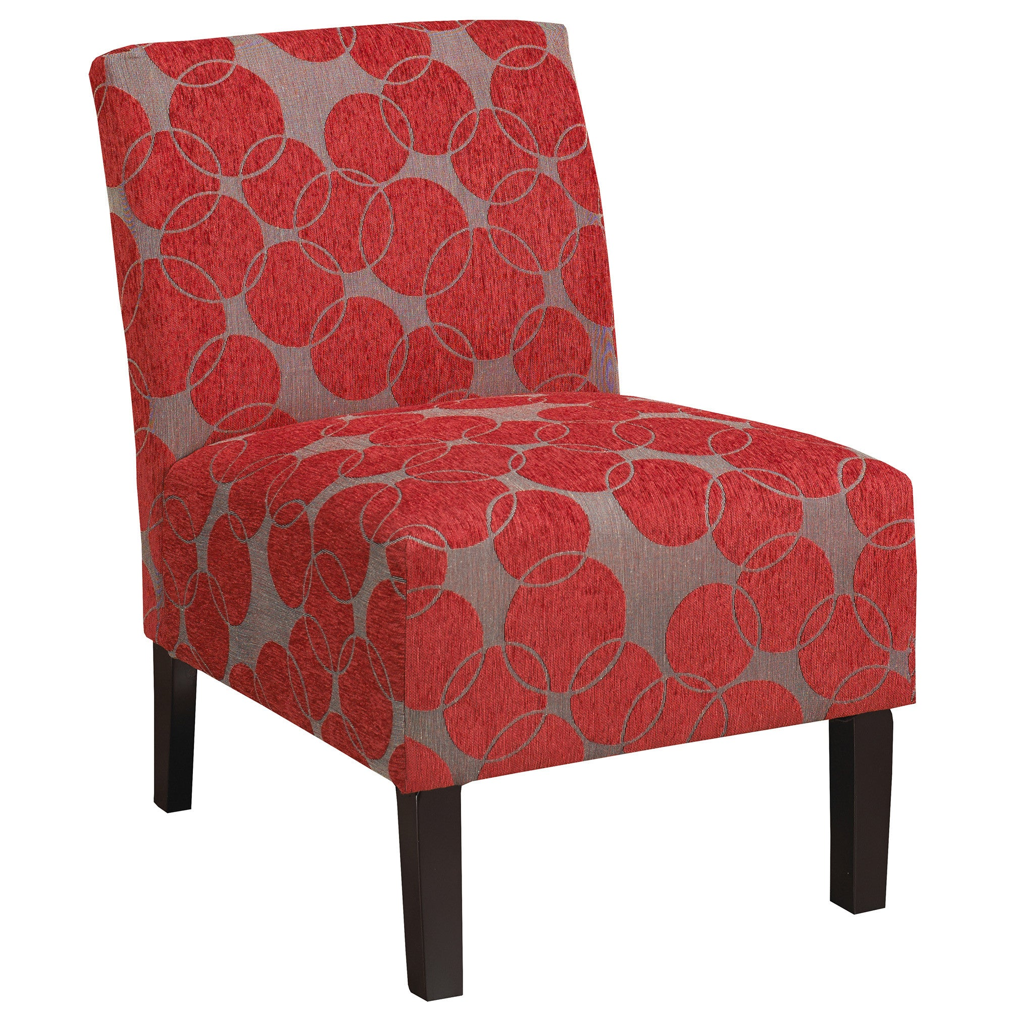 lanai accent chair in red  trendyshoppingmallcom - lanai accent chair in red