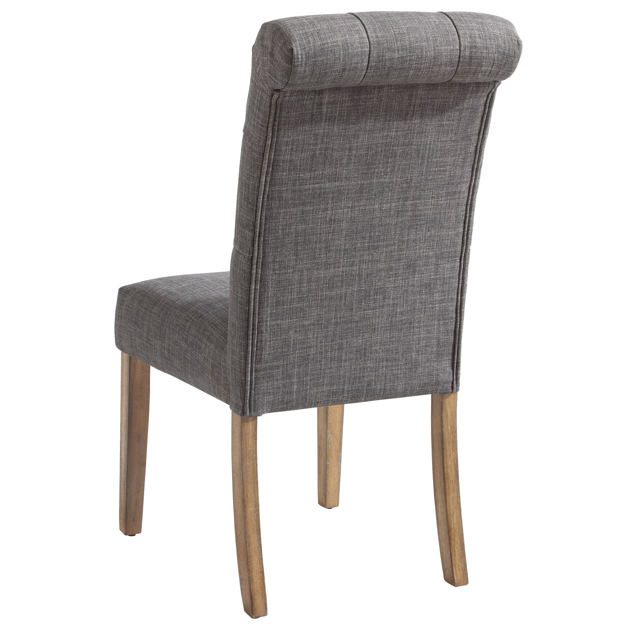 Melia Side Chair in Grey Set of 2 trendyshoppingmall