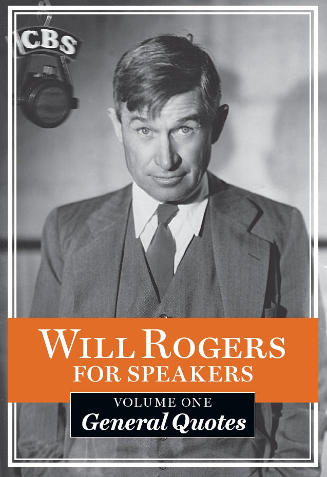 Will Rogers Quotable Pocket Book