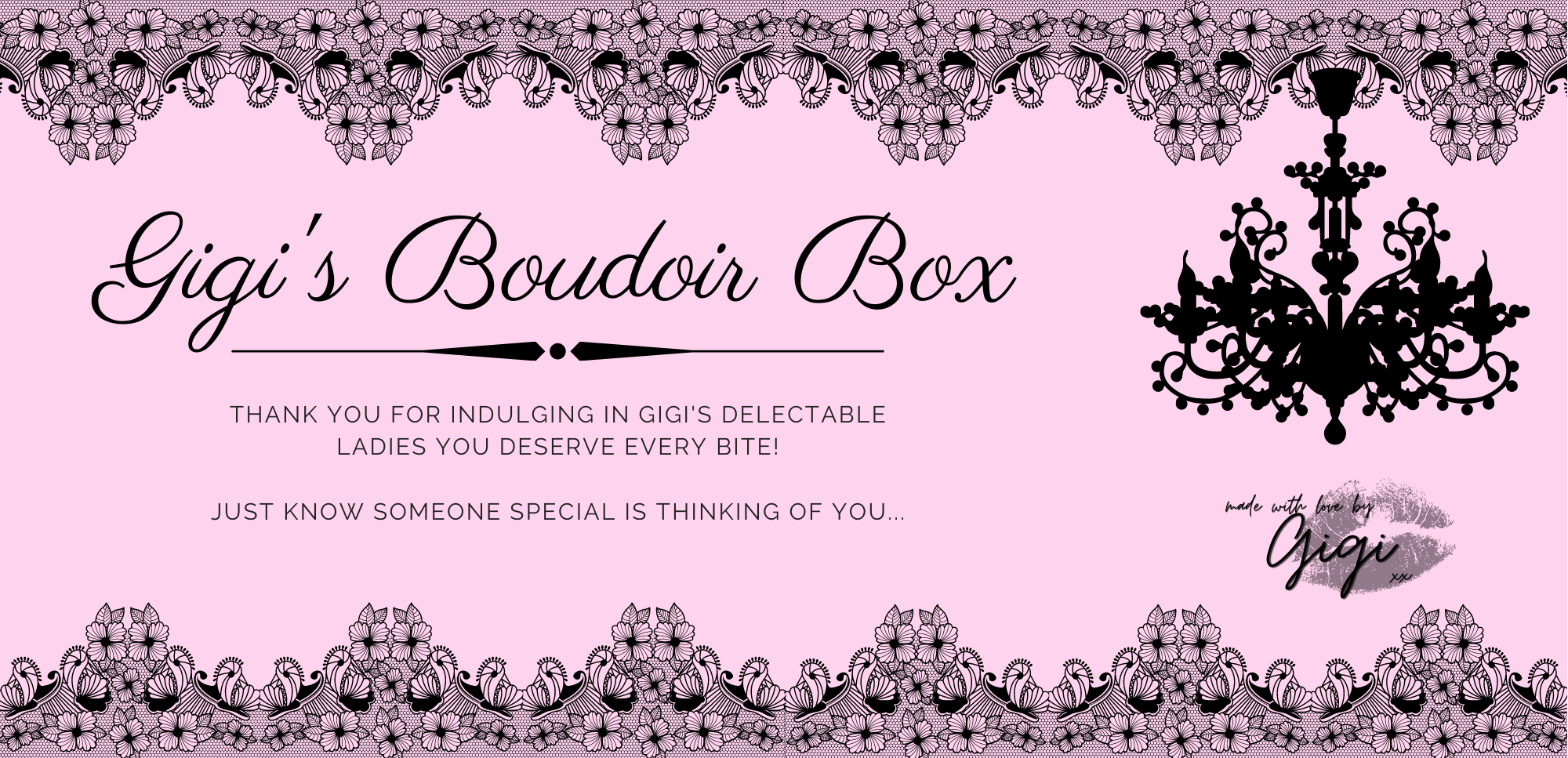 Gigi's Boudoir Box | Queen B | Miss Mariah | Marilyn Monroe | Red Velvet Mistress