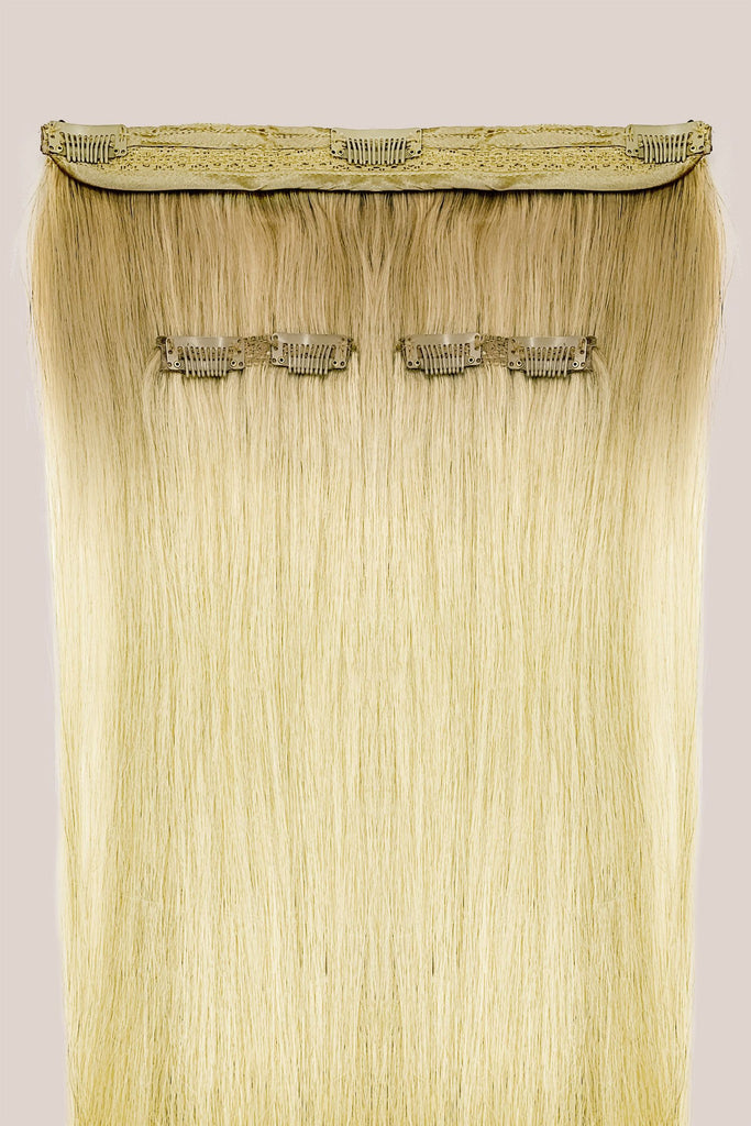 Kit 3 bandes d'extensions à clips<br>Blond Platine
