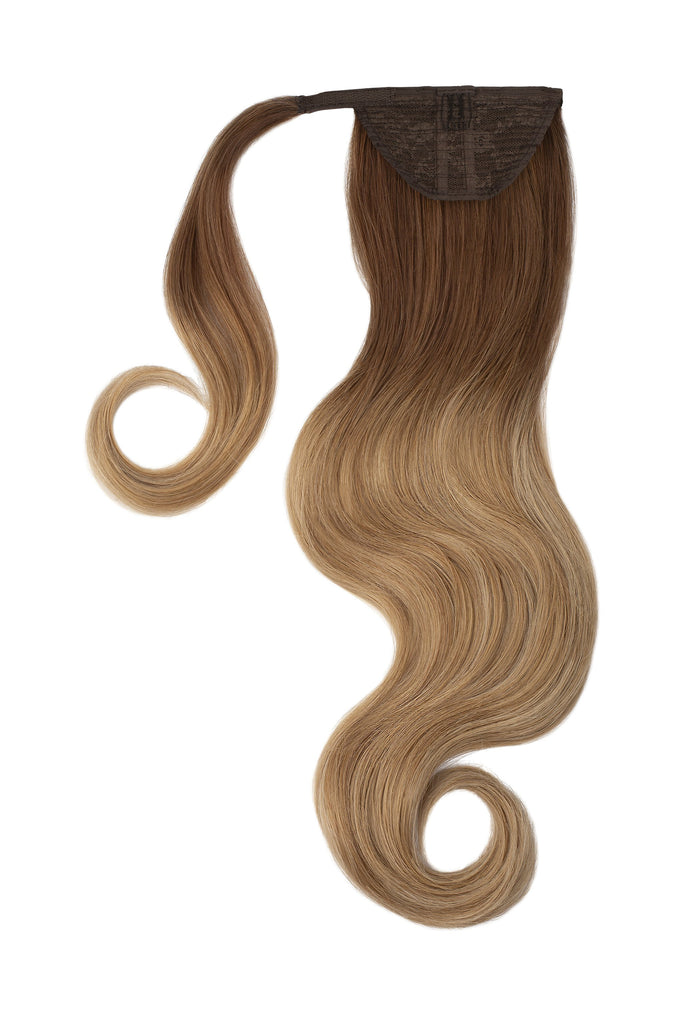 Ponytails Queue de Cheval<br> 120gm Ombré Beige - 40cm