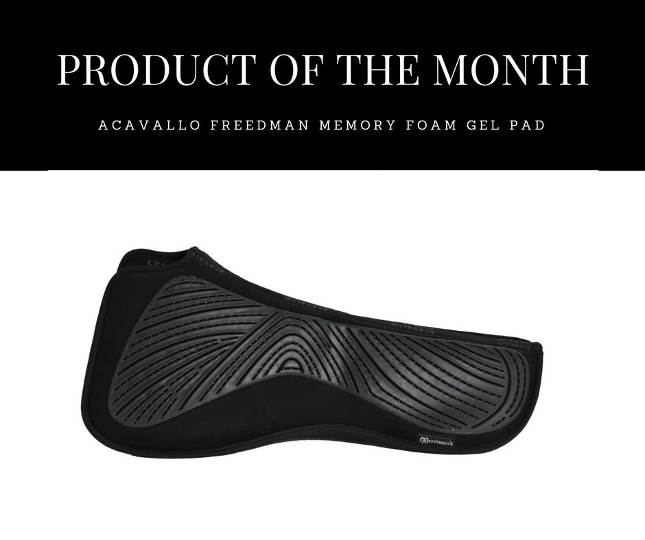 Product of the Month : Freedman Acavallo Memory Foam Gel Pad