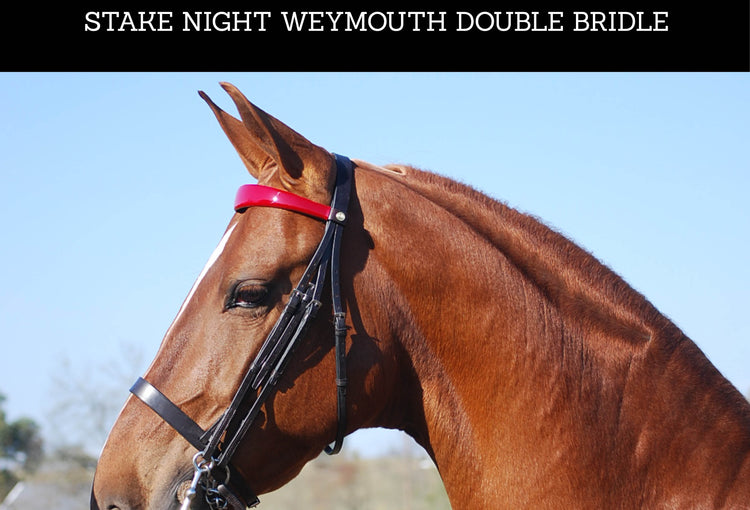 Product of The Month: The Stake Night Weymouth Double Bridle