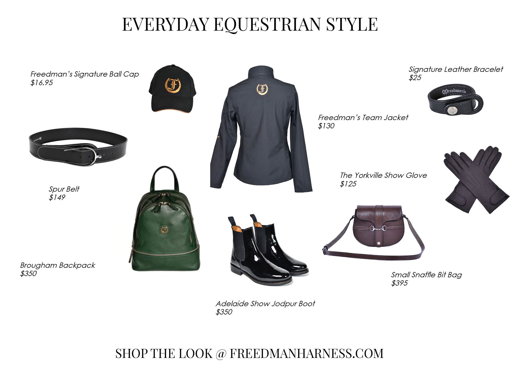 Everyday Equestrian Style Freedman S