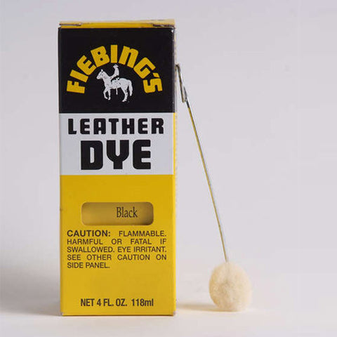 Fiebing's Black Leather Dye 4oz