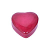 Leather Heart Jewelry Box