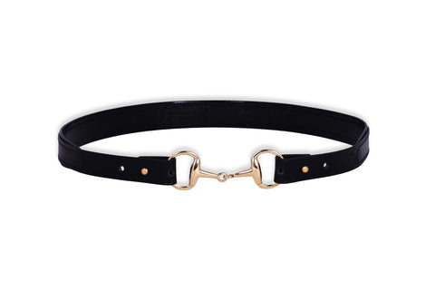 Snaffle Buckle Padded Caveson Belt