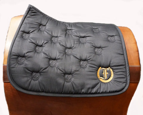 Logo Quilted Saddle Pad