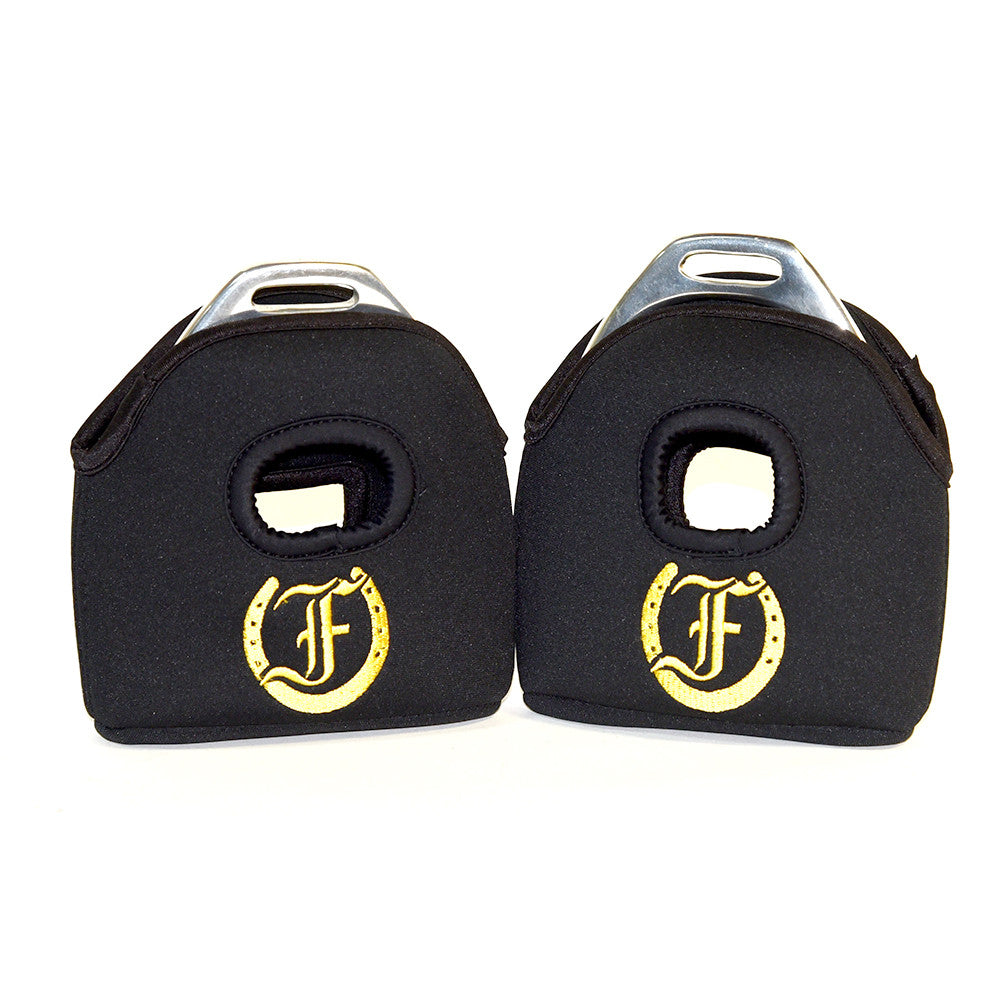 Logo Protective Stirrup Covers