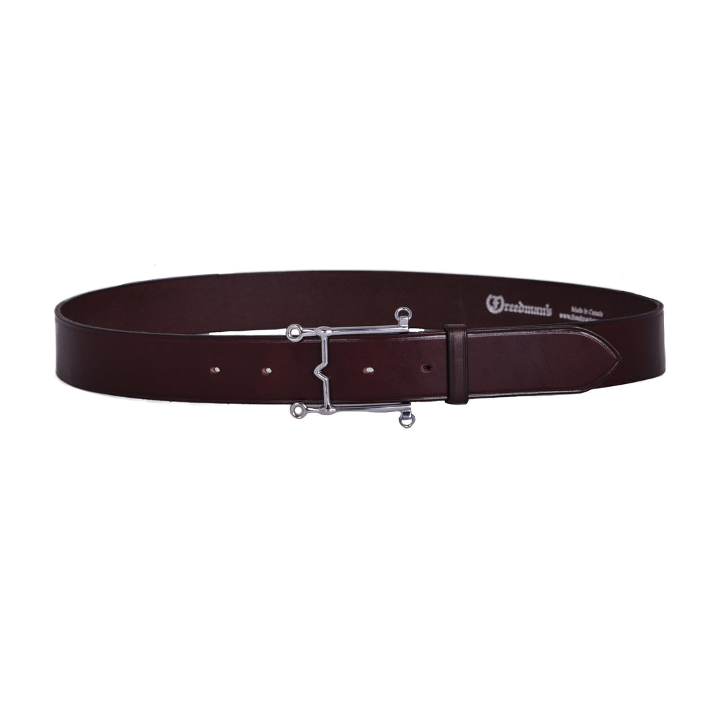 Weymouth Bit Buckle Belt