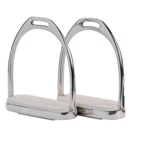 Stirrup Iron - White Tread