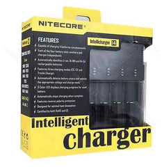 NITECORE Intellicharger i4 V2 Li-ion/Ni-MH/Ni-Cd Universal Battery Charger