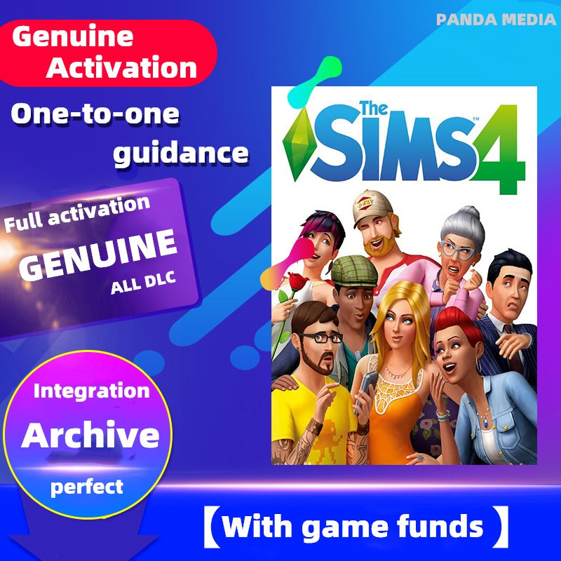 [Online genuine account activation] Sims 4 complete computer games  / PC / MAC / one to one guidance