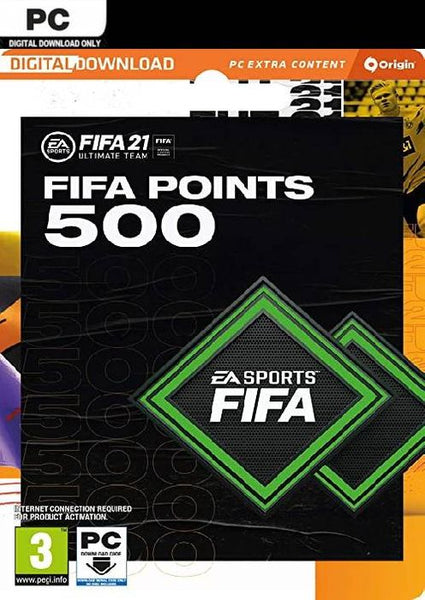 FIFA 21 ULTIMATE TEAM 500/750/1050/2200/4600 POINTS PACK PC/PS4/Xbox