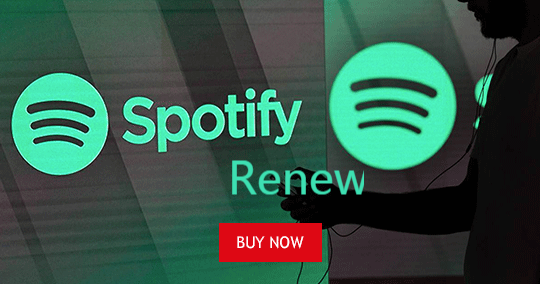 Spotify Premium Account Renew (Shared Account)