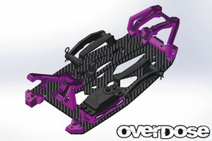 Overdose XEX Carbon Chassis Kit
